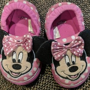 Girls Minnie mouse house-shoes